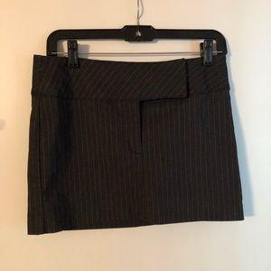 Dresses & Skirts - Mini Pinstriped Skirt